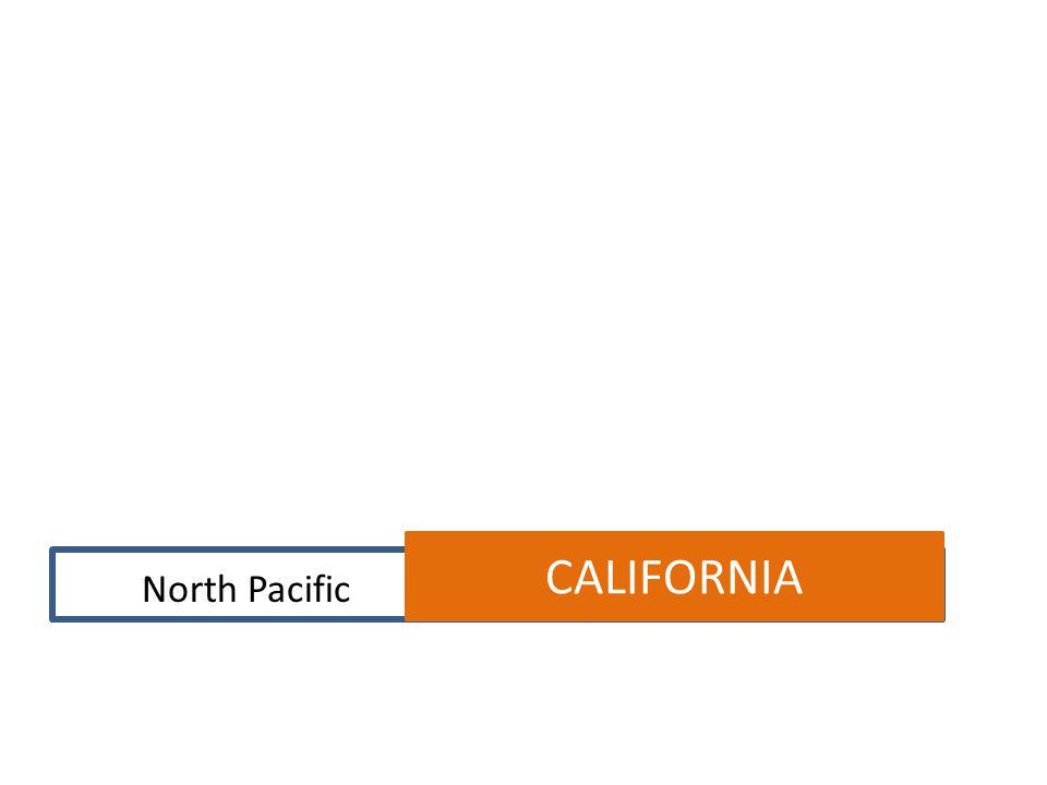 CALIFORNIA North Pacific