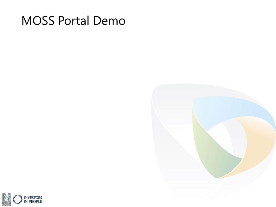 MOSS Portal Demo