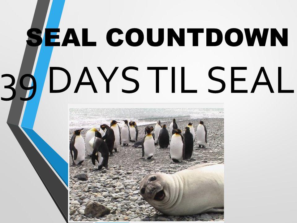 SEAL COUNTDOWN 39 DAYS TIL SEAL