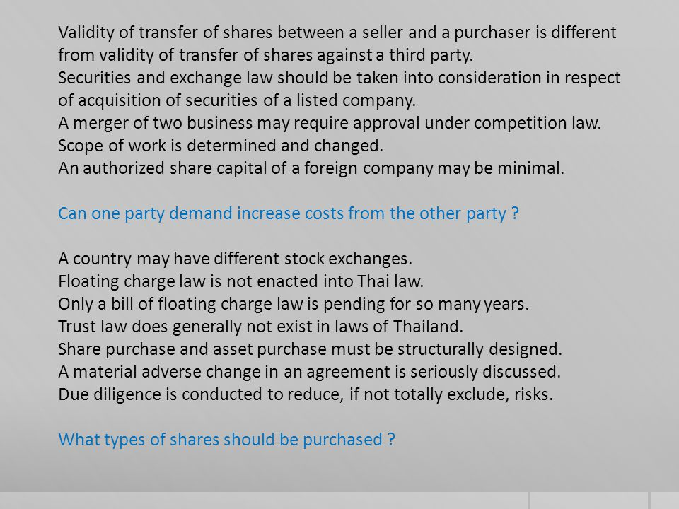 Capital gains from share sale may be subject to tax.