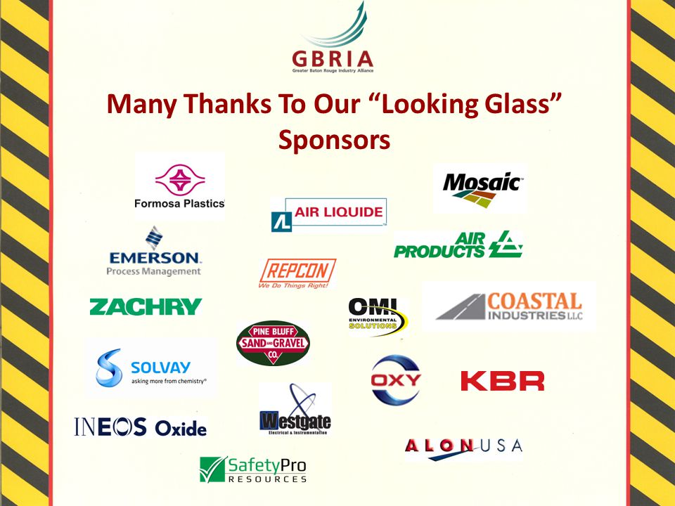 Many Thanks To Our Looking Glass Sponsors