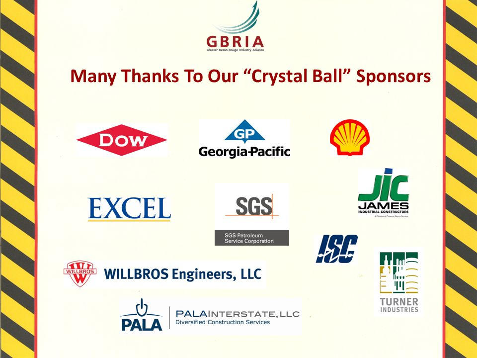 Many Thanks To Our Crystal Ball Sponsors