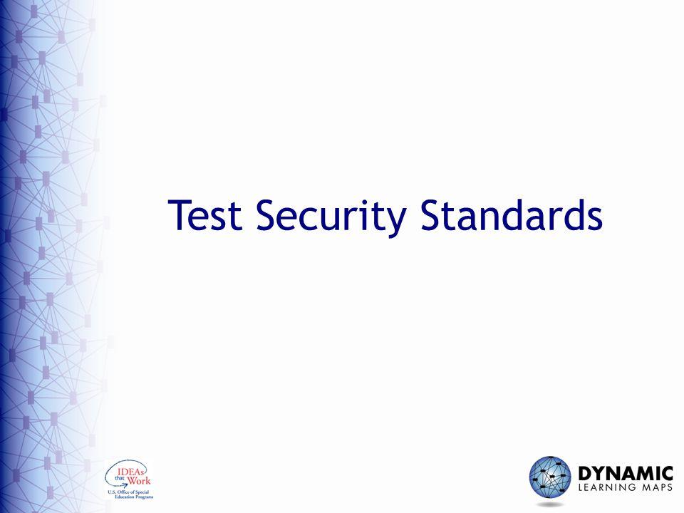 Test Security Standards