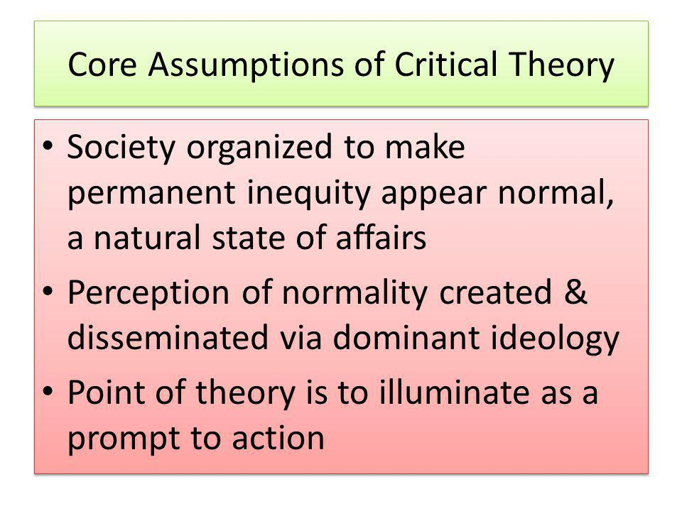 What Does it Mean to Be Critical.