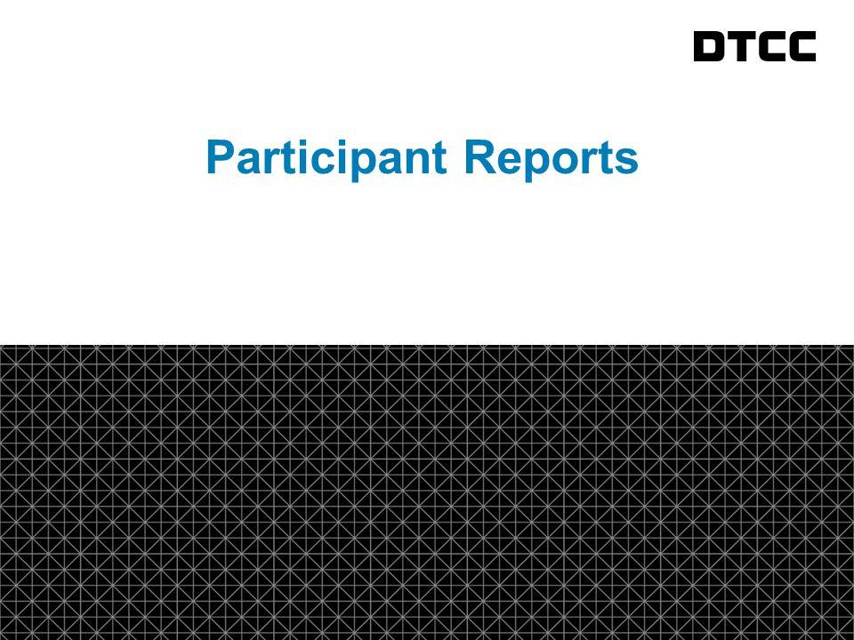 © DTCC 19 fda Participant Reports