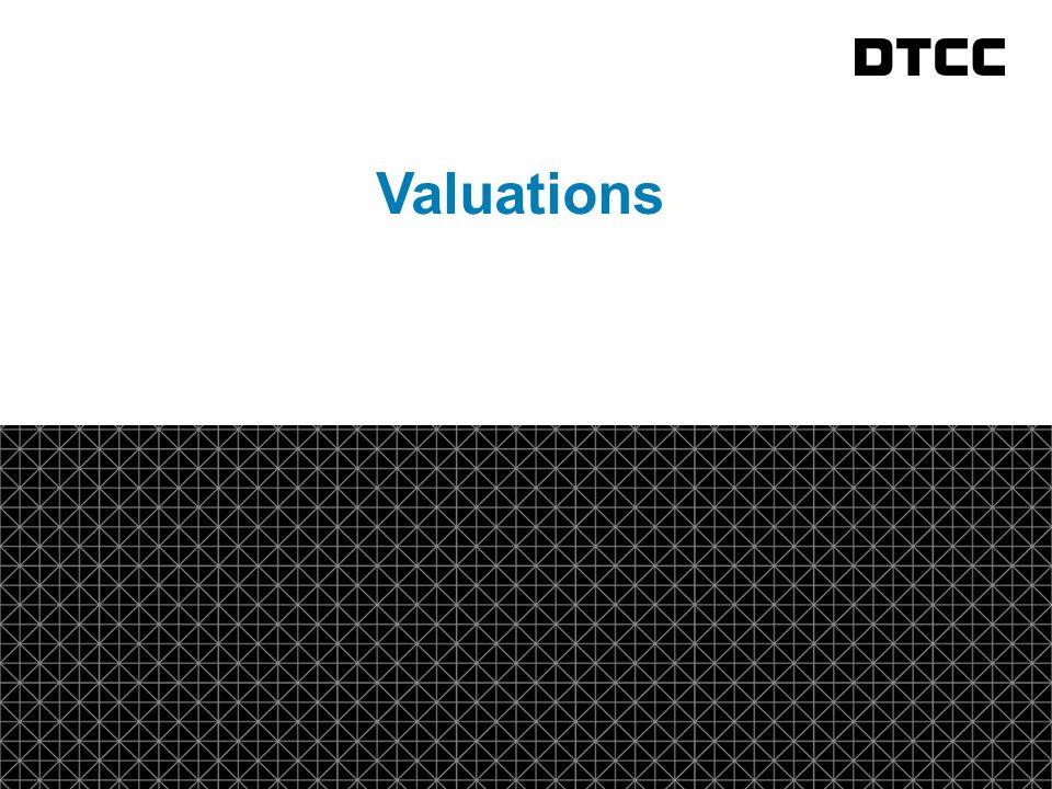 © DTCC 3 fda Valuations