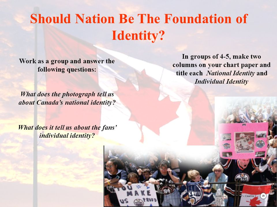 Should Nation Be The Foundation of Identity.