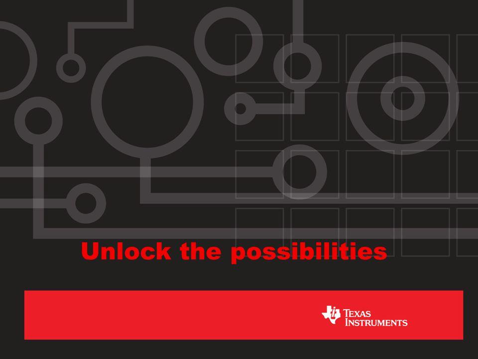 Unlock the possibilities