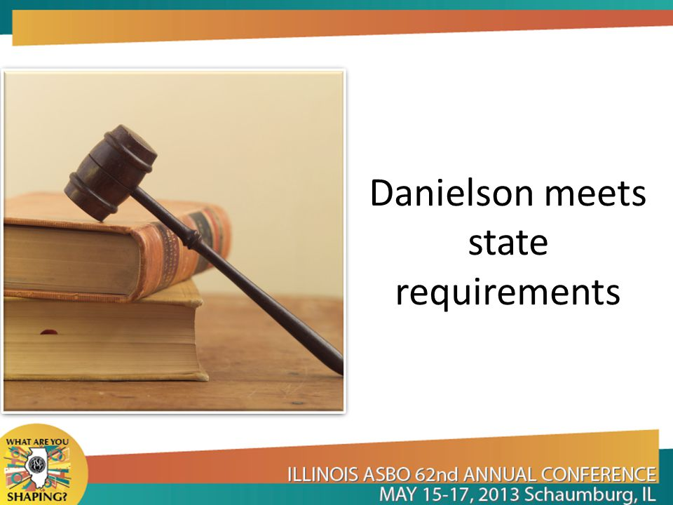 Danielson meets state requirements