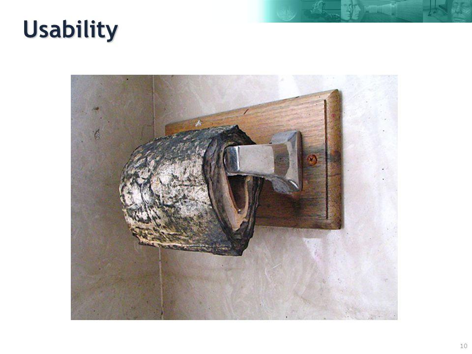 10 Usability