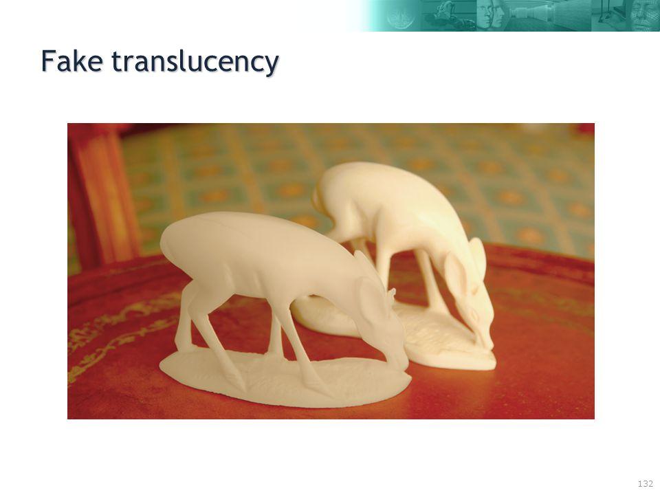132 Fake translucency
