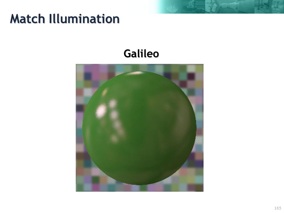 165 Match Illumination Galileo