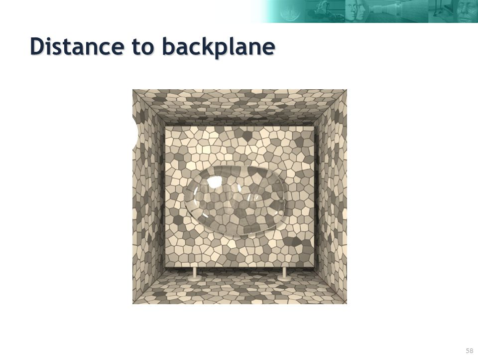 58 Distance to backplane