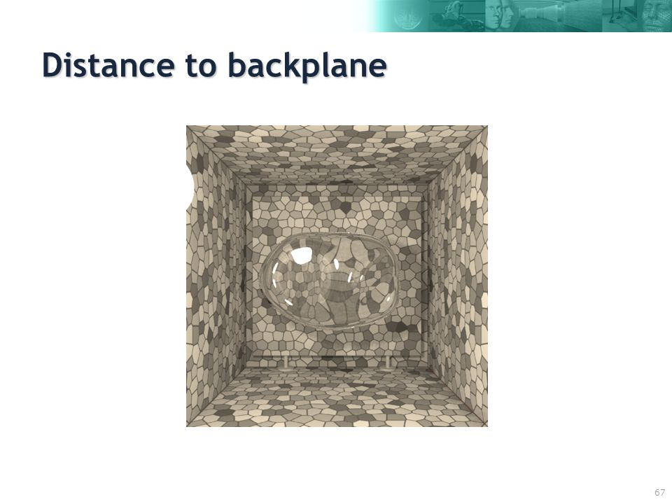 67 Distance to backplane