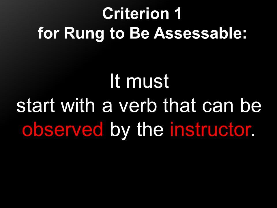 Describe Explain List Present Write Formulate Create Analyze Arrange Critique Synthesize Predict Examples of Observable Verbs