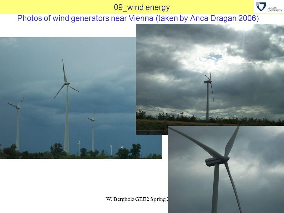 W. Bergholz GEE2 Spring 201227 09_wind energy Photos of wind generators near Vienna (taken by Anca Dragan 2006)