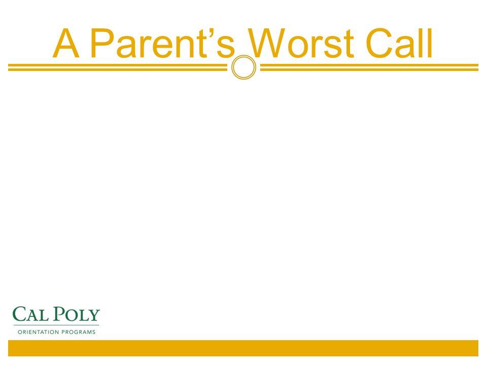 A Parent's Worst Call