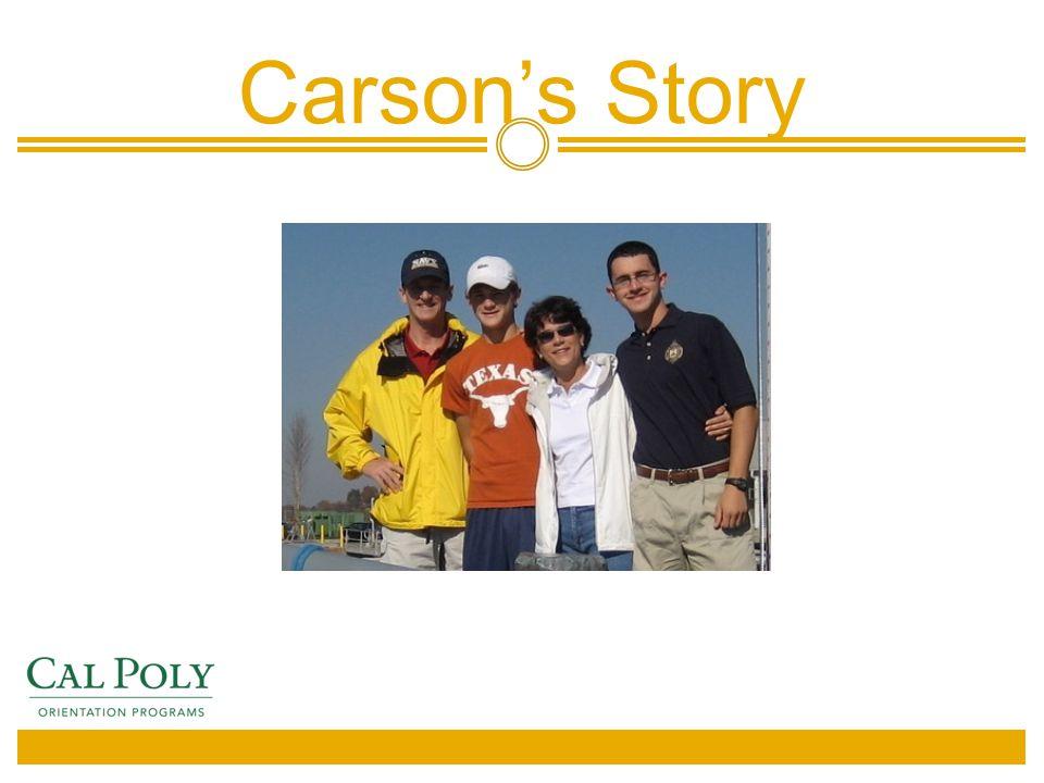 Carson's Story