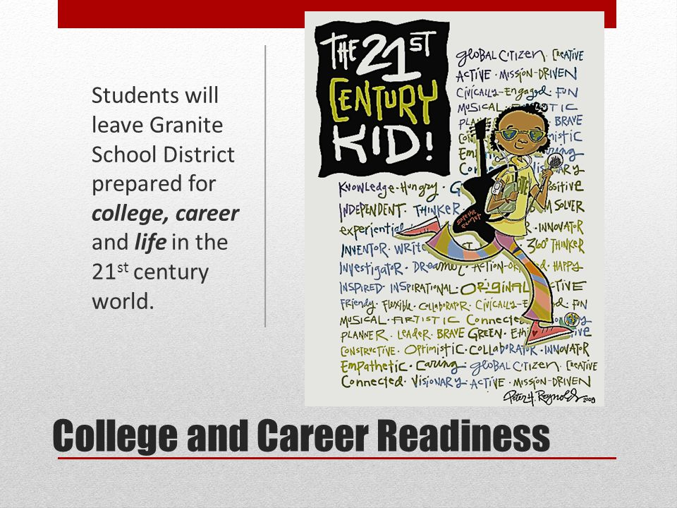 College and Career Readiness Indicators