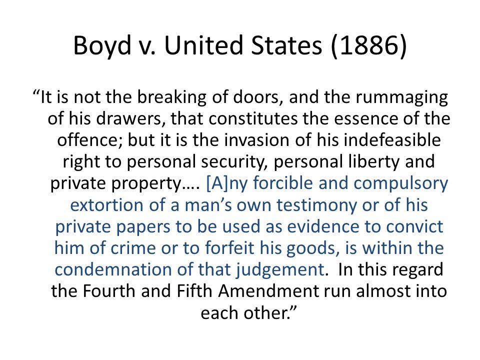 Boyd v.