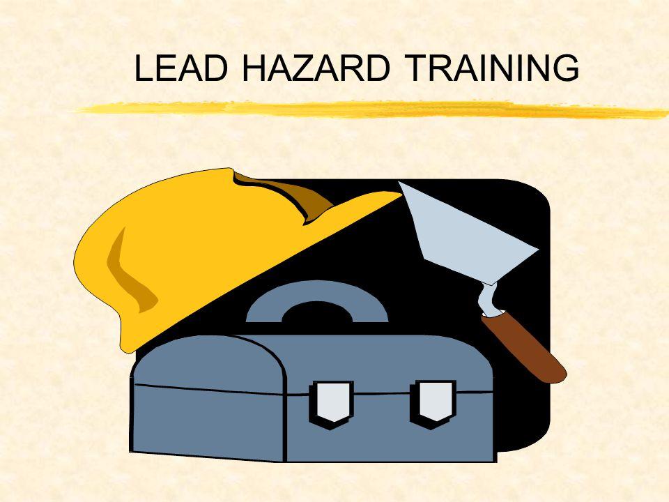 LEAD HAZARD TRAINING
