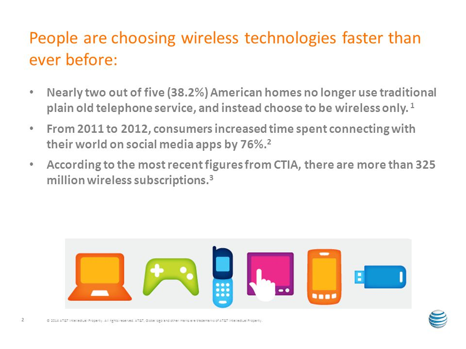 Nearly two out of five (38.2%) American homes no longer use traditional plain old telephone service, and instead choose to be wireless only.