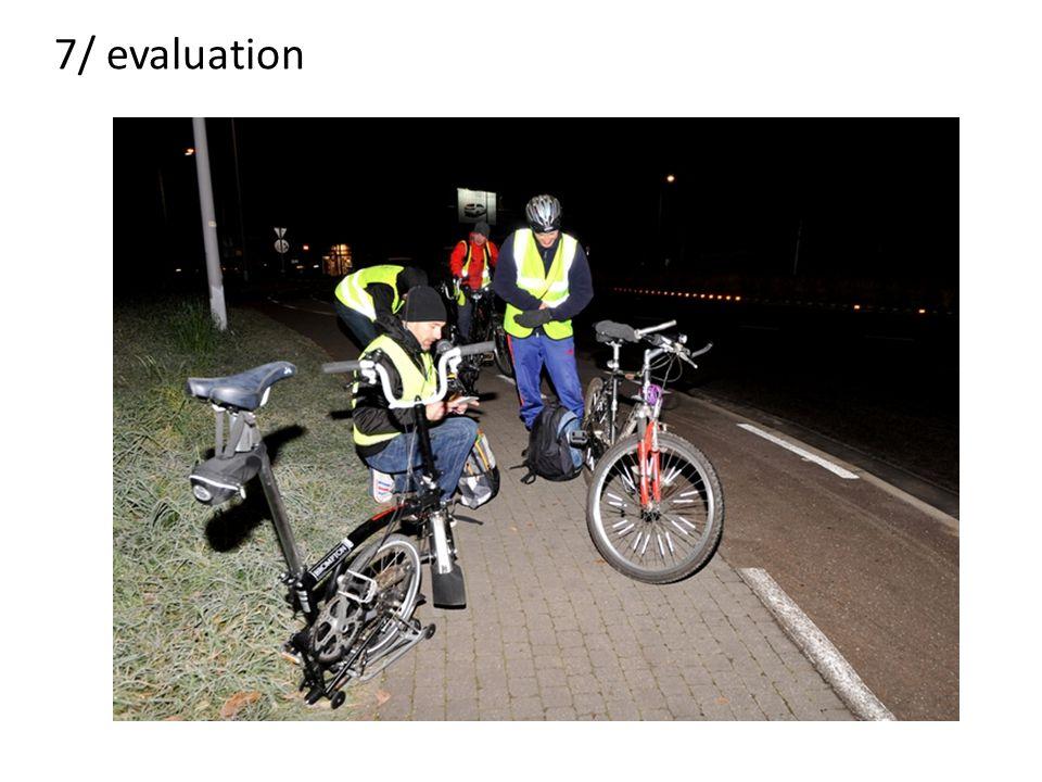 7/ evaluation