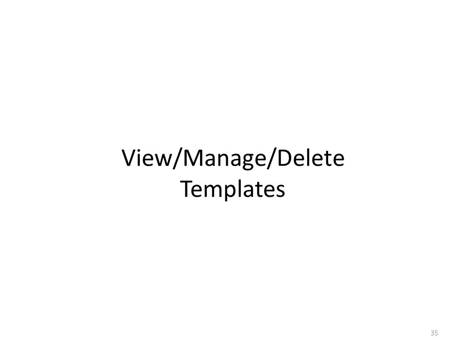 Save Template From this Save Template page you can – navigate to the 'Claims Main Page' in order to access other claims options by clicking on the Claims Main Page' button or; – create a new professional template by clicking on the Create Another Template button.