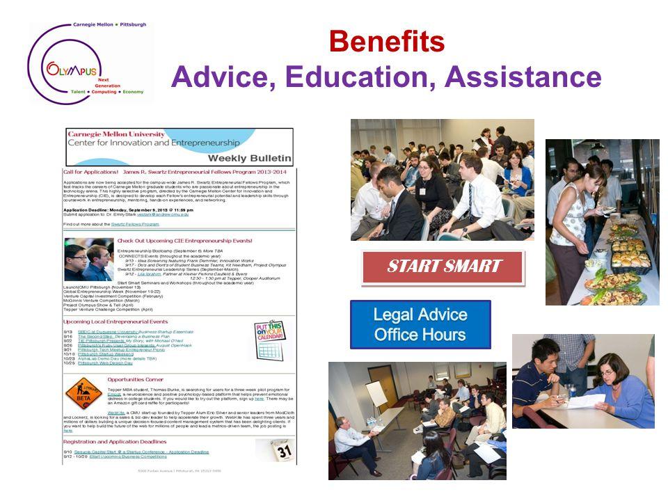 Benefits Mentors and Contacts
