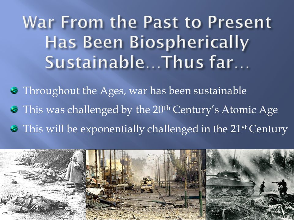 *Our genes are not here to go extinct and extinction is thus an unacceptable outcome.