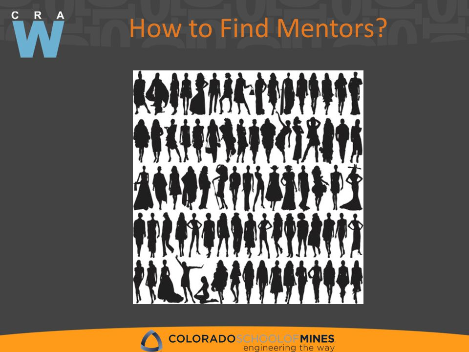 How to Find Mentors