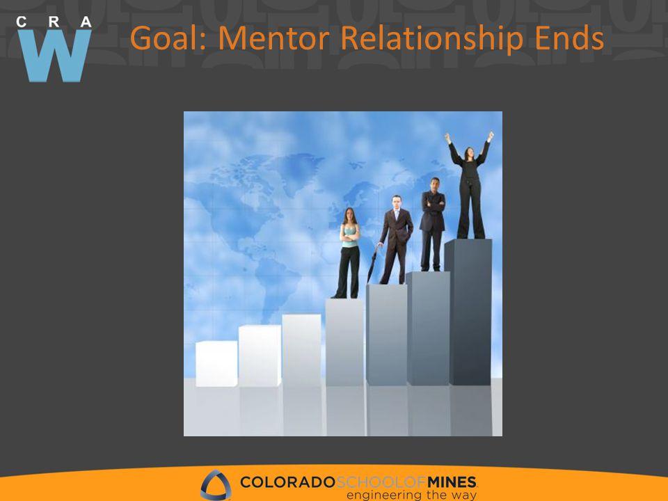 Goal: Mentor Relationship Ends