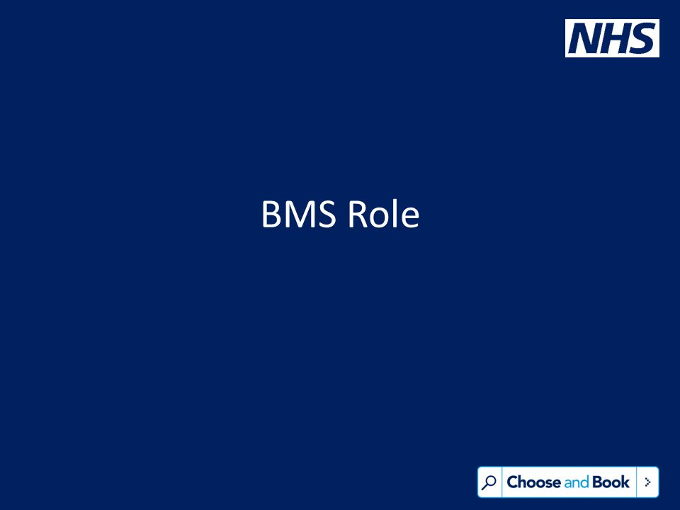 BMS Role