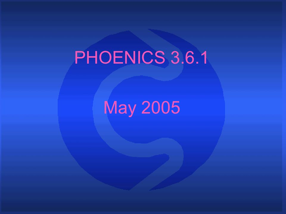 What is PHOENICS P arabolic H yperbolic O r E lliptic N umerical I ntegration C ode S eries PHOENICS is a general-purpose CFD code The name PHOENICS is an acronym standing for: