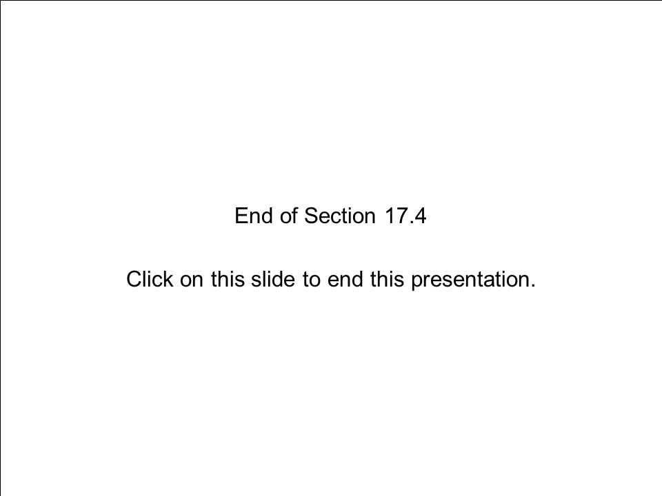 Section 17.4 Choosing to Be Drug Free Slide 20 of 19 End of Section 17.4 Click on this slide to end this presentation.