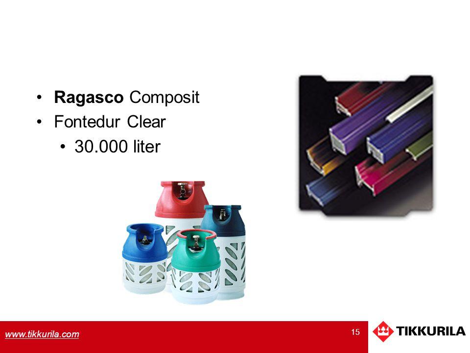 15 www.tikkurila.com Ragasco Composit Fontedur Clear 30.000 liter