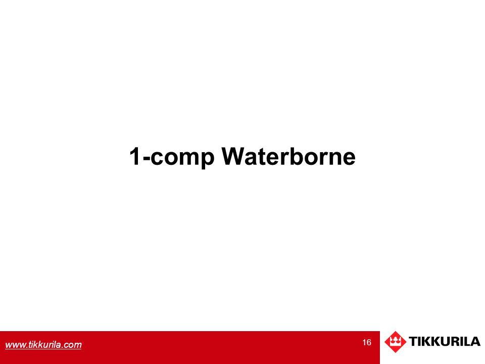 16 www.tikkurila.com 1-comp Waterborne