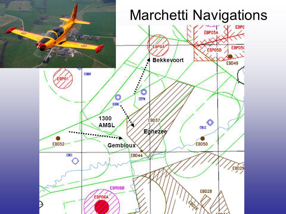 Marchetti Navigations Bekkevoort Eghezee Gembloux 1300 AMSL