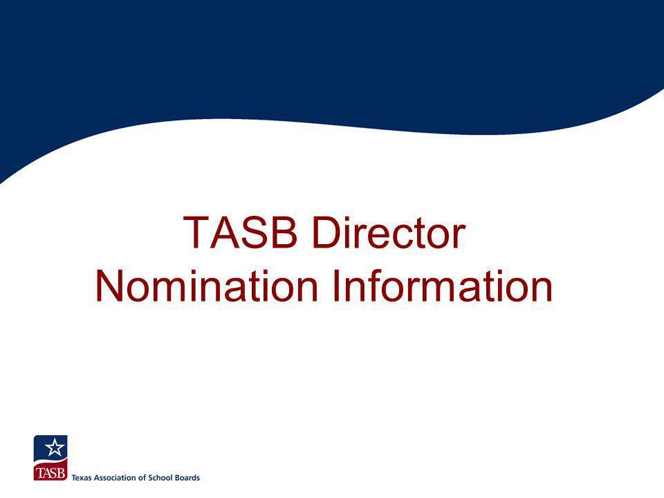 TASB Director Nomination Information