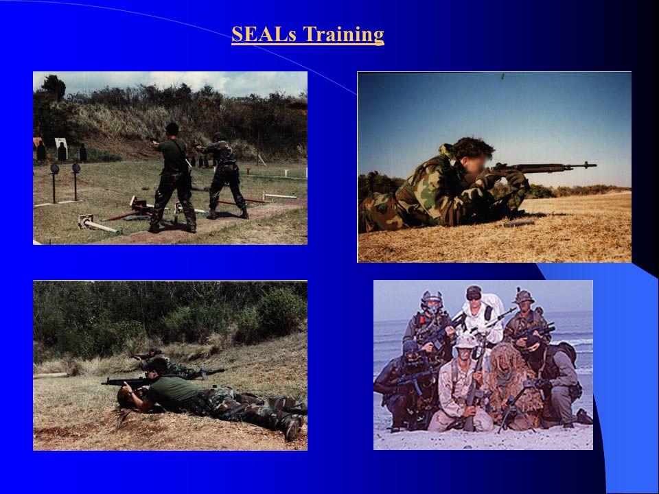 SEALs at Fort Bragg Trainings facilities