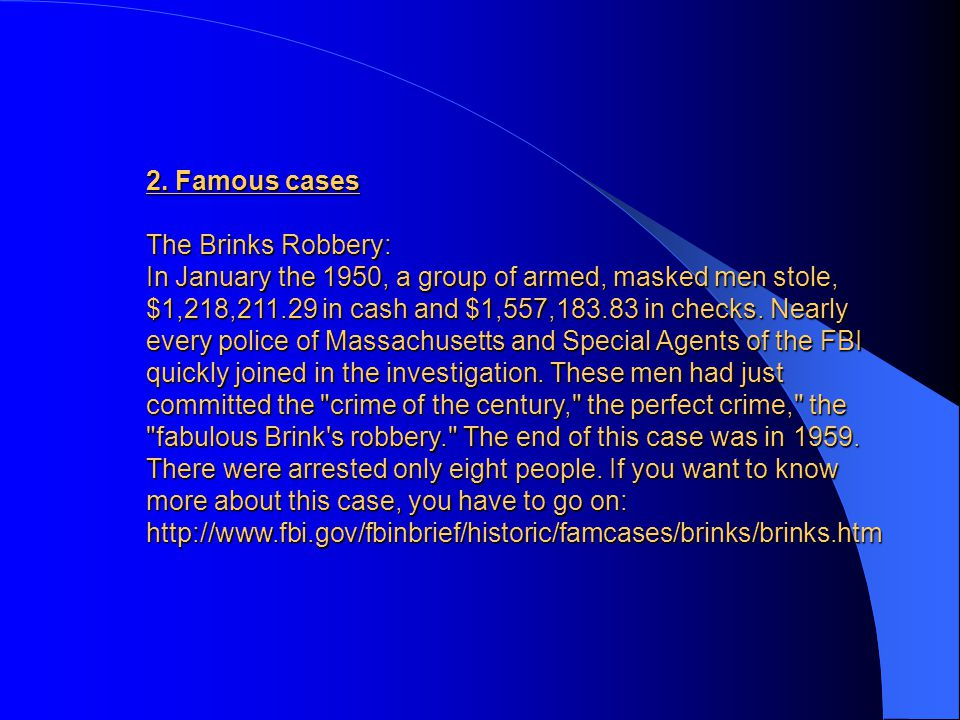 1. Origins The FBI originated from a force of Special Agents in 1908 created by Attorney General Charles Bonaparte during the Presidency of Theodore R