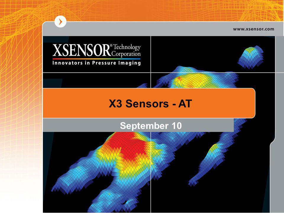 X3 Sensors - AT September 10
