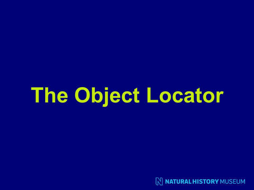 The Object Locator