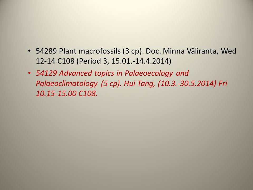 54289 Plant macrofossils (3 cp). Doc.