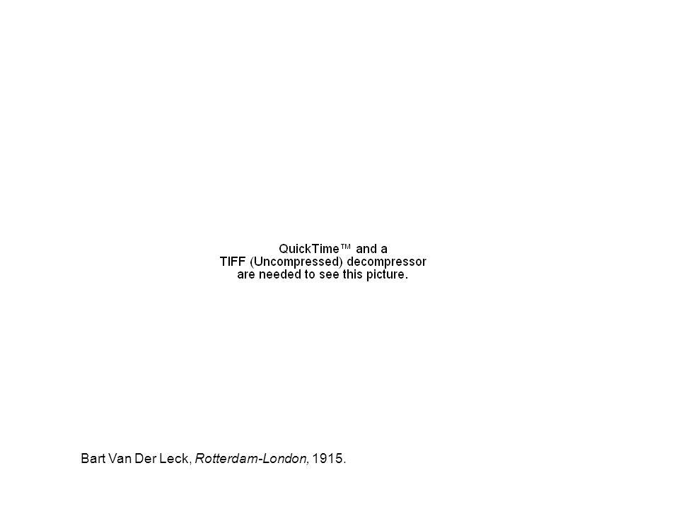 Bart Van Der Leck, Rotterdam-London, 1915.