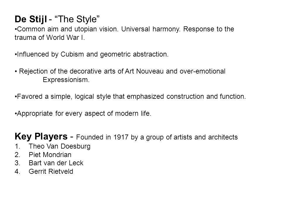 Piet Mondrian, Tablueau 2, 1922.