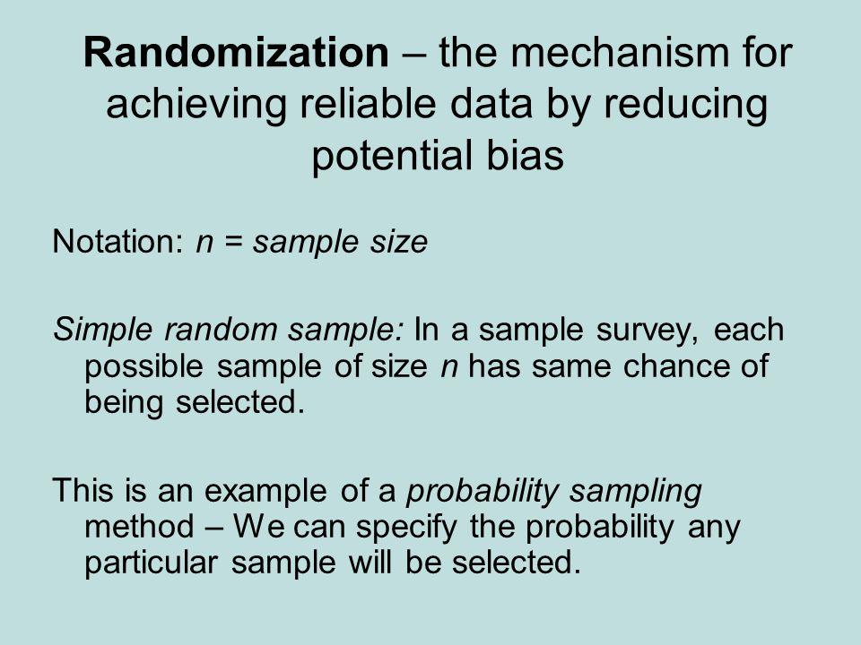 How to implement random sampling.