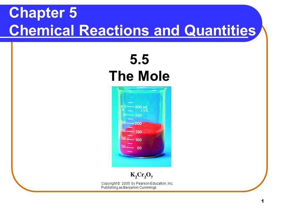 12 Subscripts State Atoms and Moles 9 mole C 8 mole H 4 mole O