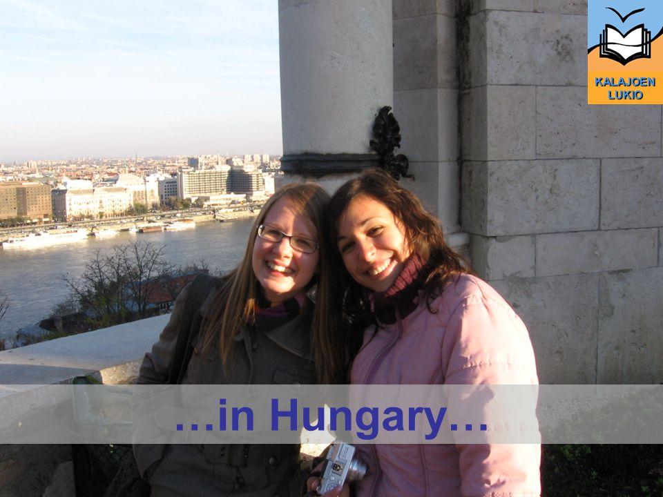 KALAJOEN LUKIO …in Hungary…