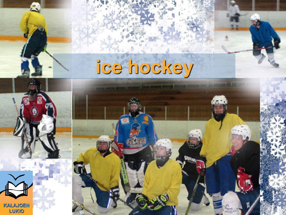 ice hockey KALAJOEN LUKIO